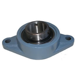 Cast Iron Bearing Housings Oval Flange Unit