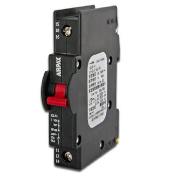 Rail-Mount Hydraulic Magnetic Circuit Breaker