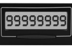 Electronic High-Speed Self-Powered Counter
