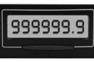Electronic Self-Powerered Hour Meter
