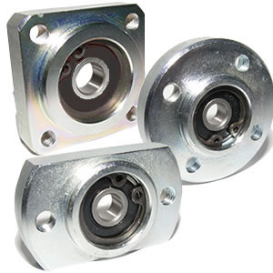 Single Housed Bearing Assembly With Circlip
