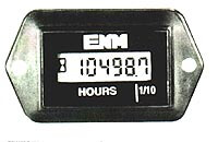 T1100 Series LCD Hour Meter C1100 Series Up or Down Counter