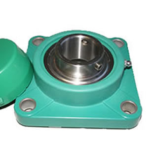 Thermoplastic Bearing Housing 4 Bolt Flange